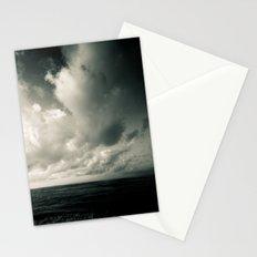 summer ver.greenblack Stationery Cards