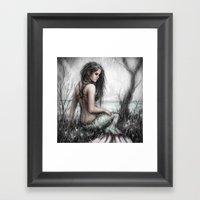 Mermaid's Rest Framed Art Print