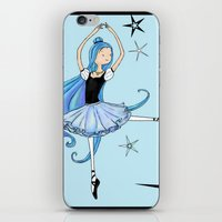 Snowflake Ballerina iPhone & iPod Skin