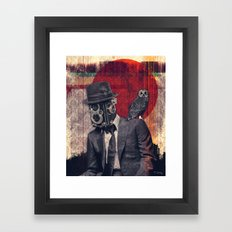 The Photographer Framed Art Print