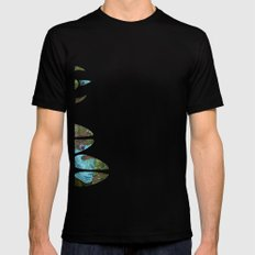 Bear Bow Hunting Mens Fitted Tee SMALL Black