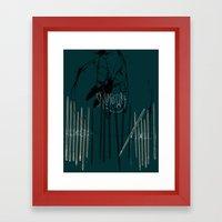 Skullduggery Framed Art Print
