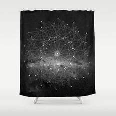 STARGAZING IS LIKE TIME TRAVEL Shower Curtain