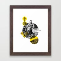 You Can Quote Me - Hunte… Framed Art Print