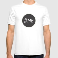 Follow Me Mens Fitted Tee White SMALL