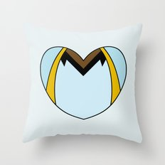 Lando Clarissian Character Heart Throw Pillow