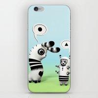 Lally Lama iPhone & iPod Skin