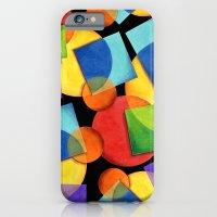 Candy Rainbow Geometric iPhone 6 Slim Case