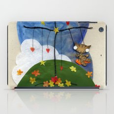Swing Swing! Cat On A Swing iPad Case