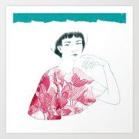 Lina Art Print