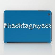 #hashtagmyass iPad Case