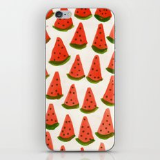 watermelon kiss iPhone & iPod Skin