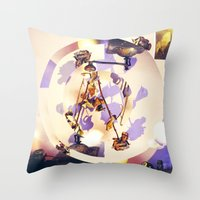 Roses Room Throw Pillow
