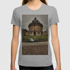 Radcliffe Camera, Oxford. Womens Fitted Tee Athletic Grey SMALL