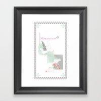 Her Pretty Parasol... Framed Art Print
