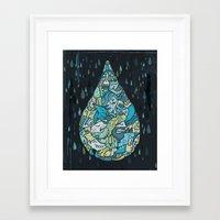 If Heaven Were A Drop Of… Framed Art Print