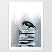 I Don't Read As Much As … Art Print