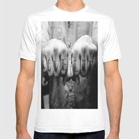 Love Life Mens Fitted Tee White SMALL