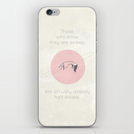 The Insomnia of Heisenberg iPhone & iPod Skin