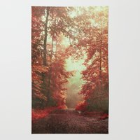 magical redwoods Rug