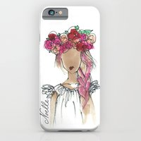 iPhone & iPod Case featuring Flower Crowned by christennoelle