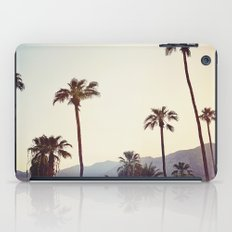Palm Trees in the Desert iPad Case