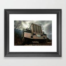 Rusty Warrior Framed Art Print