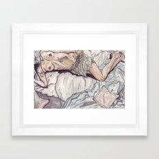 Unknown Figure 05 Framed Art Print