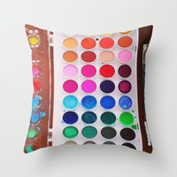 let's make art 2 Throw Pillow