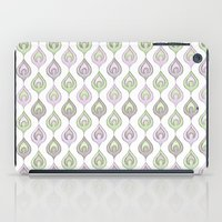 Pretty Leaves all in a Line iPad Case