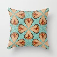 Cobra Snake Pattern Throw Pillow