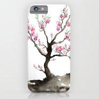 iPhone Cases featuring Sakura by Brazen Edwards