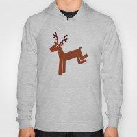 Reindeer-Green Hoody
