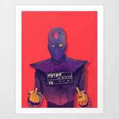 Foot Clan Art Print