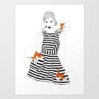 Blowfish #1 Art Print