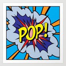 POP Art 4 Art Print