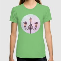 MAGICAL VENICE | Pink La… Womens Fitted Tee Grass SMALL