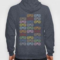 Rainbow Shutter Shades Hoody
