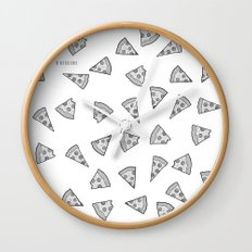 I Like Pizza Wall Clock