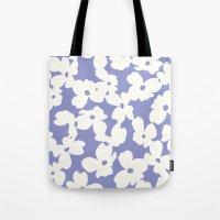 Dogwood: Lilac Tulip Tote Bag