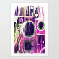 unnecessary  Art Print