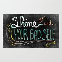 Shine On With Your Bad Self Rug
