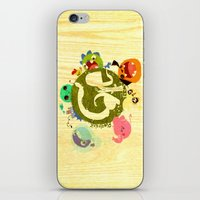CARE - Love Our Earth iPhone & iPod Skin