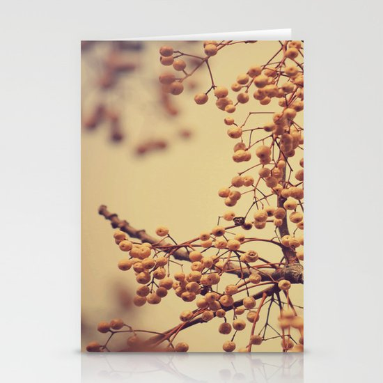 Autumn Life (III) Stationery Card