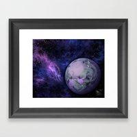 A World of Purple Haze Framed Art Print