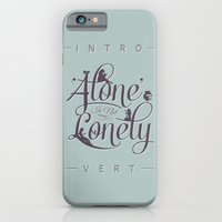 iPhone & iPod Case featuring 'Alone' Is Not 'Lonely' by Andrew Treherne
