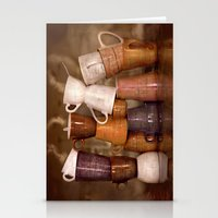 Cafehouse (without windows) Stationery Cards