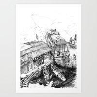Nuchinatown Art Print