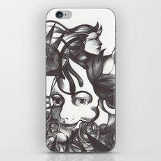 Rosas y espinas iPhone & iPod Skin