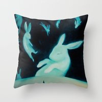 They Drifted Throw Pillow